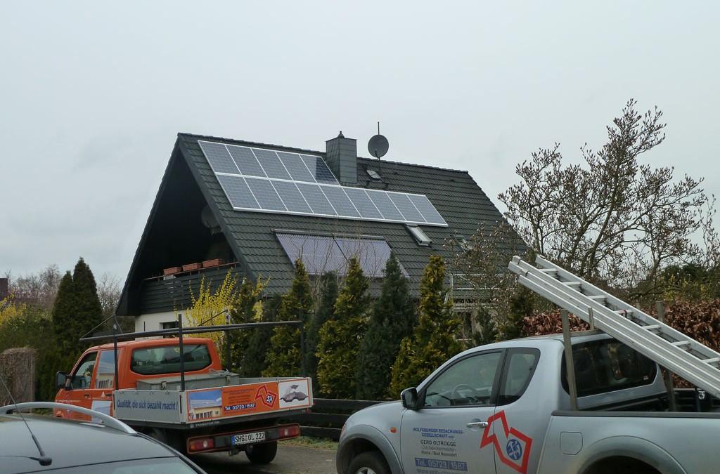 3,22 kWp Photovoltaikanlage in Wunstorf (Luthe)
