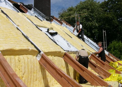 okalhaus sanierung dach fassade in waltringhausen bad nenndorf dachdecker oltrogge. Black Bedroom Furniture Sets. Home Design Ideas